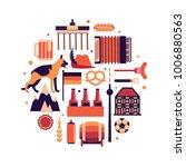 germany  vector flat... | Shutterstock .eps vector #1006880563