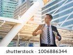 businessman with dollar | Shutterstock . vector #1006886344