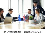 european union and united... | Shutterstock . vector #1006891726