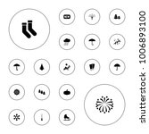 editable vector season icons ... | Shutterstock .eps vector #1006893100