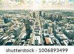 aerial view of skyscrapers in... | Shutterstock . vector #1006893499