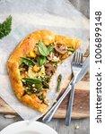 vegetarian galette   styled...   Shutterstock . vector #1006899148
