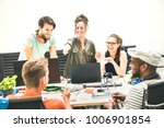 young people employees group... | Shutterstock . vector #1006901854
