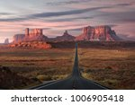 forrest gump point  red rock at ... | Shutterstock . vector #1006905418