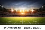 american football stadium 3d... | Shutterstock . vector #1006910380