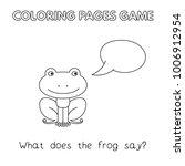 funny frog kids learning game.... | Shutterstock .eps vector #1006912954