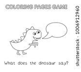 funny dinosaur kids learning... | Shutterstock .eps vector #1006912960