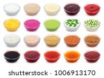 set of different sauces... | Shutterstock . vector #1006913170