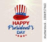 president day  usa  | Shutterstock .eps vector #1006917463
