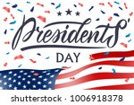 presidents day in usa... | Shutterstock .eps vector #1006918378