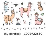 vector set of characters.... | Shutterstock .eps vector #1006922650