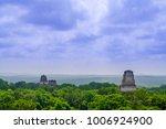 panorama of tikal national park.... | Shutterstock . vector #1006924900