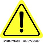 yellow warning mark.eps this is ... | Shutterstock .eps vector #1006927000