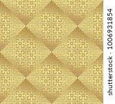 gold metallic regular seamless...   Shutterstock . vector #1006931854