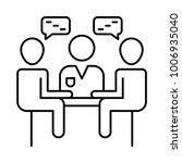 communication chatting...   Shutterstock .eps vector #1006935040