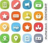 flat vector icon set   report... | Shutterstock .eps vector #1006936849