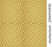 gold metallic regular seamless...   Shutterstock . vector #1006943950