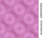 pink metallic regular seamless...   Shutterstock . vector #1006945504