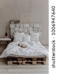 creative studio apartment decor ... | Shutterstock . vector #1006947640