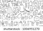 vector background seamless... | Shutterstock .eps vector #1006951270