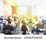 blurred image of large... | Shutterstock . vector #1006954420