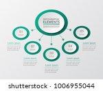 vector business template for... | Shutterstock .eps vector #1006955044