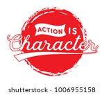 action is character. | Shutterstock .eps vector #1006955158