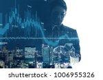 financial technology concept.... | Shutterstock . vector #1006955326