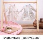 beautiful handmade fashion... | Shutterstock . vector #1006967689