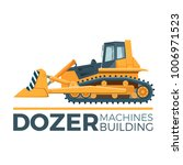 mashines building promo poster... | Shutterstock .eps vector #1006971523