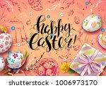 vector card with realistic 3d...   Shutterstock .eps vector #1006973170