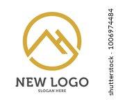 home clean logo design template.... | Shutterstock .eps vector #1006974484