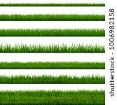 grass border collection   Shutterstock . vector #1006982158