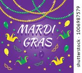 set of mardi gras design... | Shutterstock .eps vector #1006987579