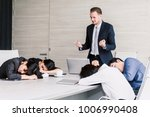 group of business people... | Shutterstock . vector #1006990408