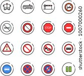 line vector icon set   airport... | Shutterstock .eps vector #1007000260