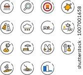 line vector icon set   shower...   Shutterstock .eps vector #1007001658