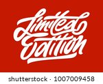 limited edition. premium... | Shutterstock .eps vector #1007009458