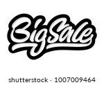 big sale. premium handmade... | Shutterstock .eps vector #1007009464