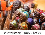 african tribal art for sale at... | Shutterstock . vector #1007012599