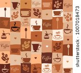 Coffee Seamless Pattern With A...