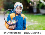 cute adorable little kid boy...   Shutterstock . vector #1007020453