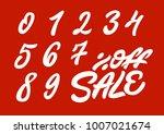 0 9   off sale. premium... | Shutterstock .eps vector #1007021674