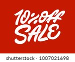 10   off sale. premium handmade ... | Shutterstock .eps vector #1007021698