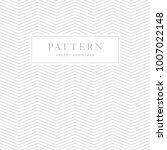 simple chevron seamless pattern.... | Shutterstock .eps vector #1007022148