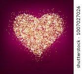 happy valentine's day | Shutterstock .eps vector #1007027026