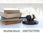 judge gavel with justice...   Shutterstock . vector #1007027050