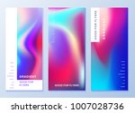 design templates for flyers ... | Shutterstock .eps vector #1007028736