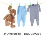 Children's Clothes And Toy On...