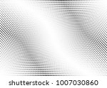 abstract halftone wave dotted... | Shutterstock .eps vector #1007030860